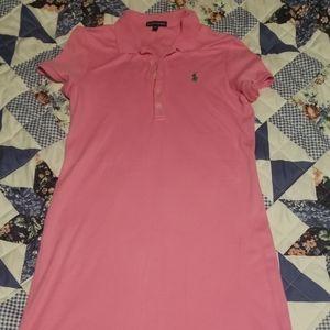 Ladies Ralph Lauren Pink Dress Size Medium